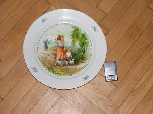 Тарелка большая декоративная