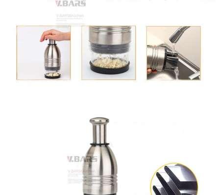 Измельчитель продуктов прочный (металлический)