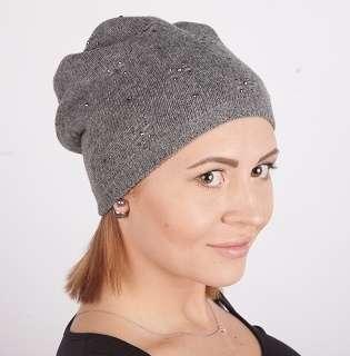 Женская трикотажная шапка мод. 436