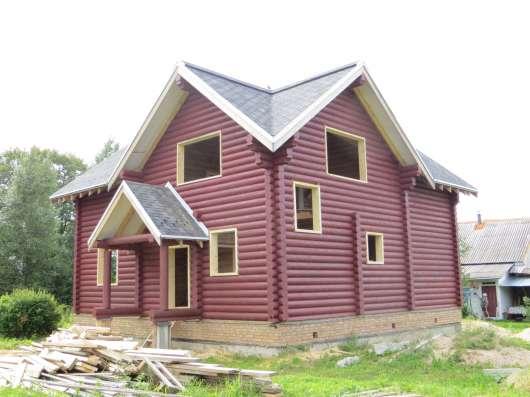 Рубленые дома и бани