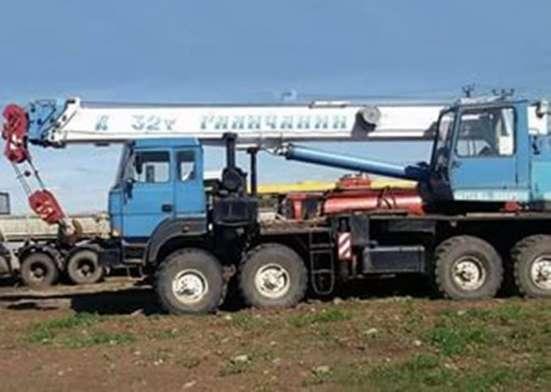 Продам Автокран Галичанин 32тн;31м; ВЕЗДЕХОД КАМАЗ;2012г