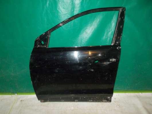 Santa Fe 2006-11 Дверь Правая Передняя б/у оригинал чёрный