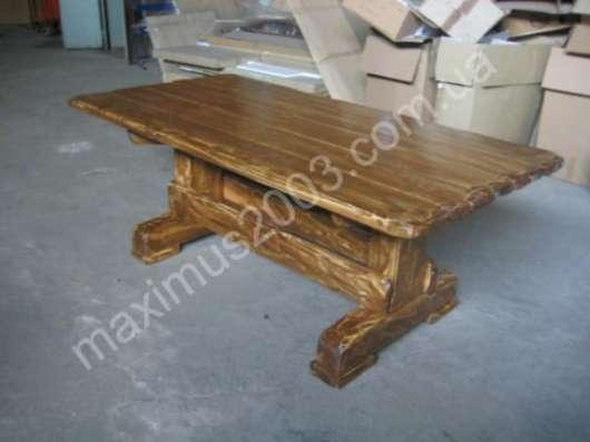 Мебель искусственного старения из дерева в Екатеринбурге Фото 2