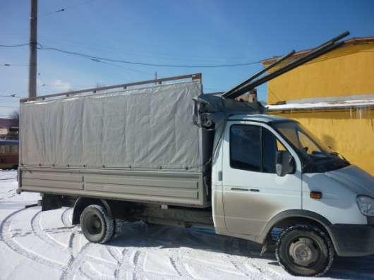 Перевозки грузов тентованная бортовая газель 4м.