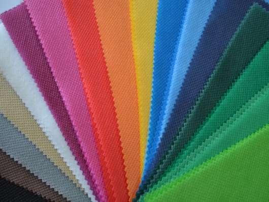 Цветной спанбонд, пленка ПВХ и ПВД оптом