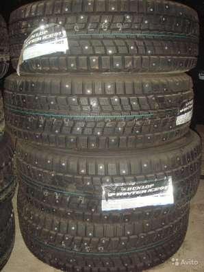 Новые шипы Dunlop 225/60 R16 Winter ICE01 102T в Москве Фото 1