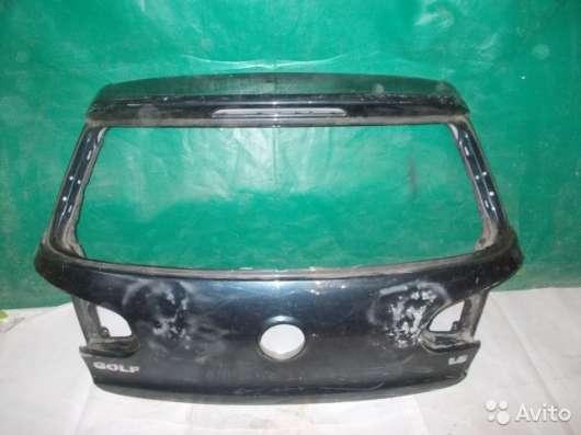 Крышка багажника на Volkswagen Golf 6