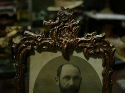 Старинная настольная рамка для фото в Санкт-Петербурге Фото 3