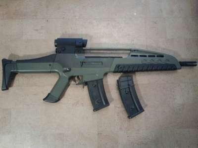 Модель страйкбольная XM8-2