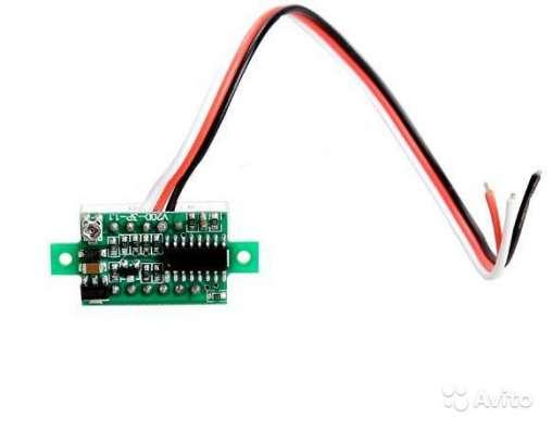 Вольтметр Портативный цифровой DC 0-100V