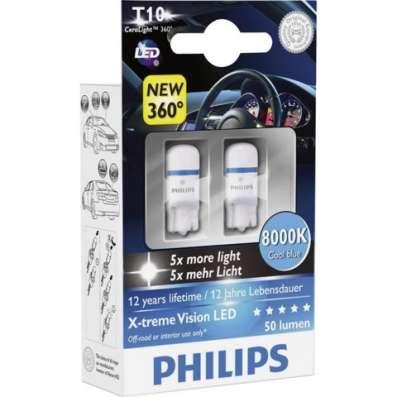 Лампы светодиодные PHILIPS X-tremeVision LED 12V 8000K к-т в Раменское Фото 2