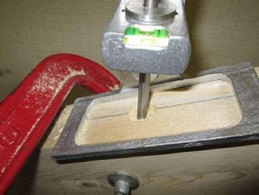 Кондуктор для сверления отверстий в тетиве, под установку ба в Ярославле Фото 1