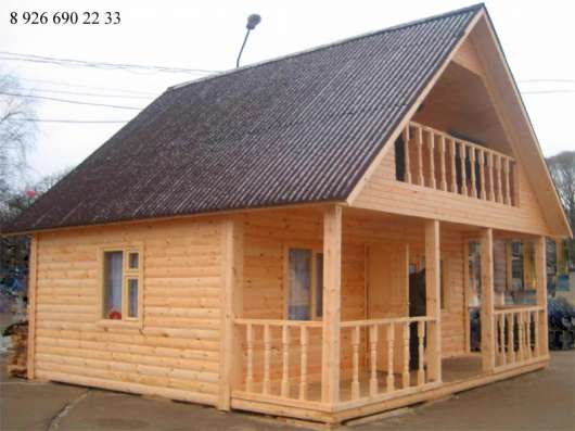 Построить дачный дом в Москве Фото 2