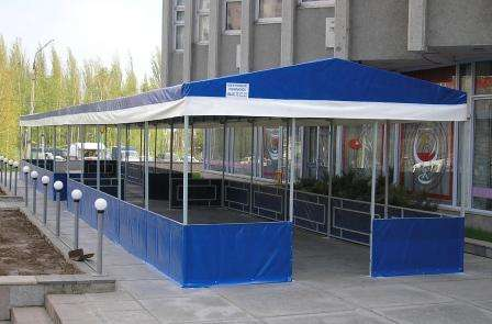 Тентовые конструкции павильоны в Волгограде Фото 2