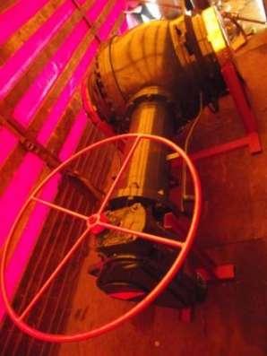 Шаровые краны, Затвор (клапан) обратный поворотного типа