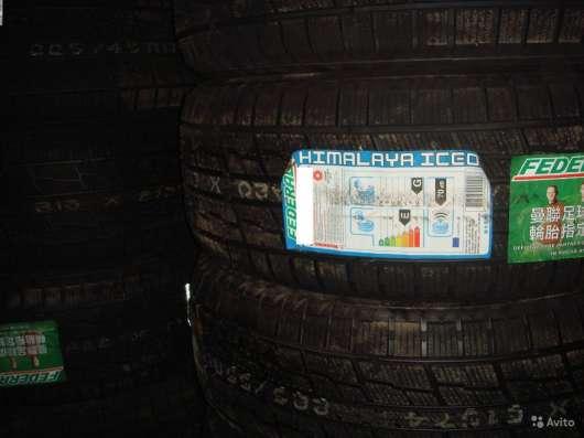 Новые липучки Federal 215 55 R17 Himalaya iceo