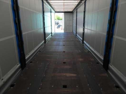 Полуприцеп Krone SD 2015 штора-ворота-коники-борт