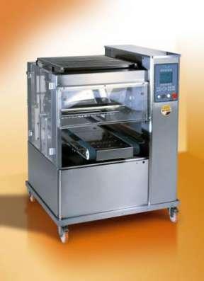 Двубункерная отсадочная машина для производства сдобного печенья с начинкой Сура СД-600