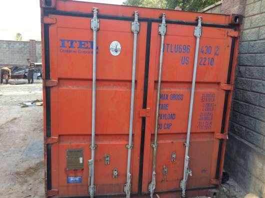 Продам контейнер 20 тонник (утепленный) в г. Алматы Фото 1