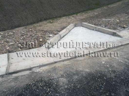 Блок бетонный Б-5, дорожного водоотвода в Пятигорске Фото 4