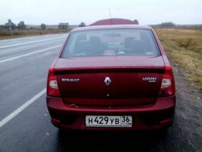 автомобиль Renault Logan, цена 25 руб.,в Воронеже Фото 4