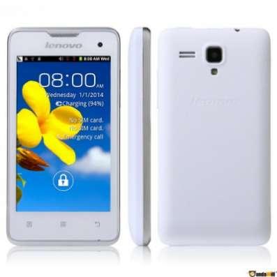 сотовый телефон  Lenovo A396 белый