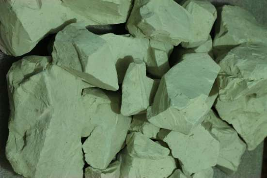 Натуральная, природная, голубая глина