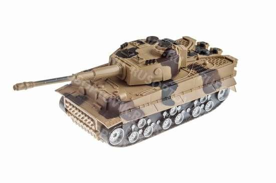 Радиоуправляемый танк с имитацией боя в Москве Фото 2