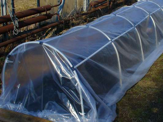 Каркасы для парников из жестких труб ПВХ 20 мм 5 метров