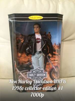 Barbie Harley-Davidson (Барби Харлей-Дэвидсон)