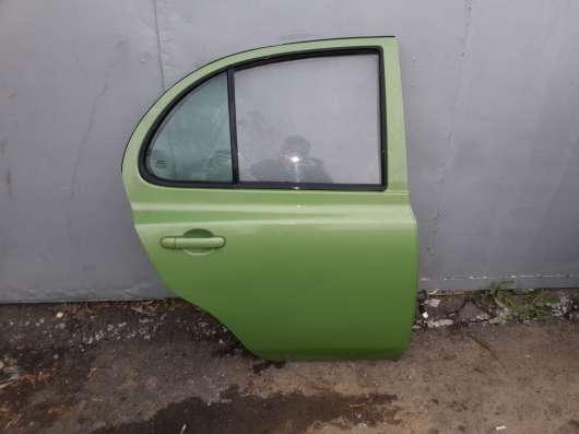 Дверь задняя правая в сборе Nissan Micra K12