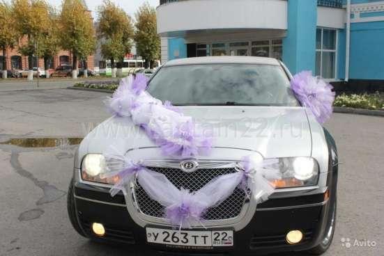 Украшения на свадебный автомобиль Барнаул Фото 1