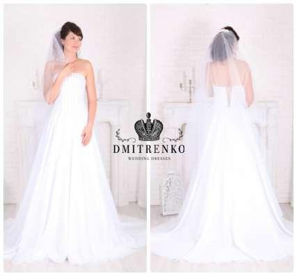 Новое свадебное платье на корсете