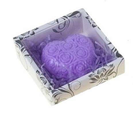 """Мыло фигурное """"Сердце"""" в коробочке"""