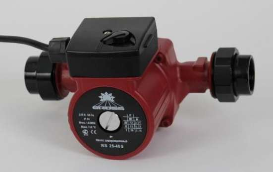 Насос циркуляционный для систем отопления GROSS