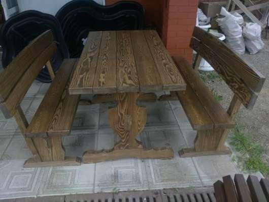Беседки, столы лавочки для сада