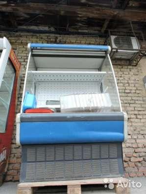 торговое оборудование Холодильная горка б/у 1