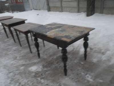 Старинный обеденный стол в Москве Фото 1