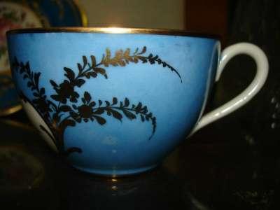 Старин.чашка и тарелочка,фарфор,живопись в Санкт-Петербурге Фото 3