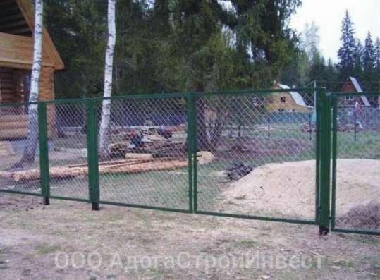 Садовые металлические ворота и калитки в Курске Фото 4