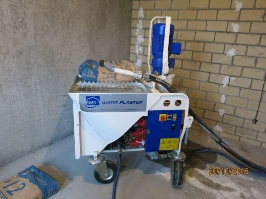 Стяжка пола, штукатурка стен машинным способом в Пензе Фото 5