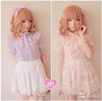 Блузка в стиле Lolita, новая, с биркой, в упаковке в Перми Фото 3