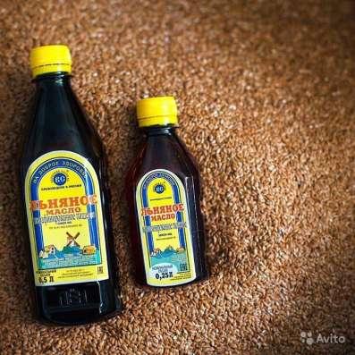 Льняное масло 0,5 л в Казани Фото 1