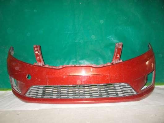 Бампер, передний на Kia Rio 3 - 2012-14г. в