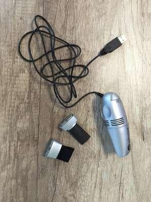 USB пылесос со сменными насадками