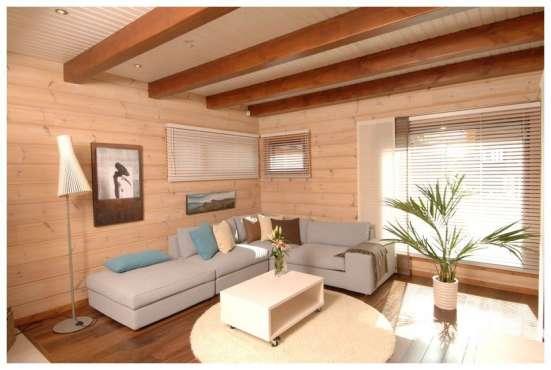 Отделочные работы деревянных домов, бань, саун в Калуге Фото 2