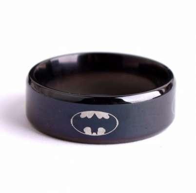 Кольцо Бэтмана с бархатным мешочком