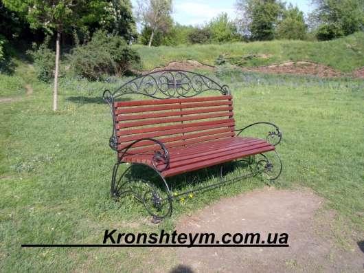 Скамейки, лавочки уличные сварные и кованые металлоизделия в г. Коростень Фото 3