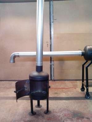 Гриль-коптильня 4в1, горячего и холодного копчения