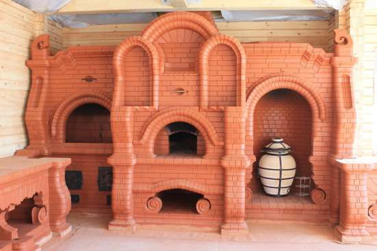 Строительство печей каминов